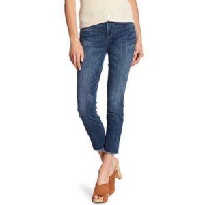 NYDJ Ami frayed hem skinny ankle jeans 16